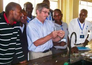 Mike Stahr in Kenya