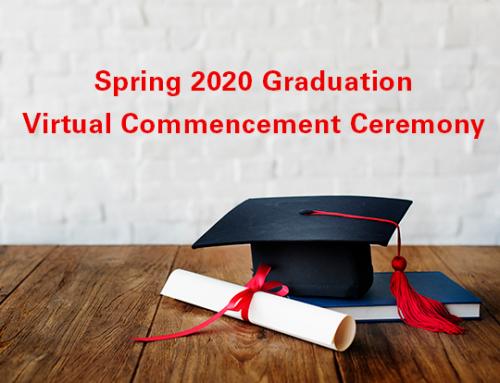 Spring 2020 Graduation Update